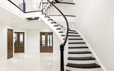 Curved Tread Staircase