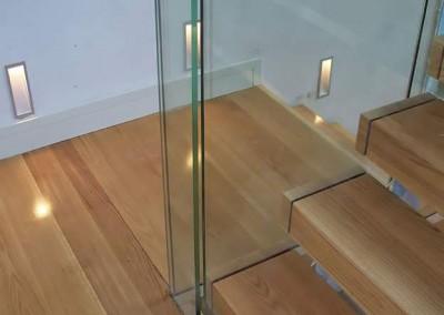 American White Oak Staircase